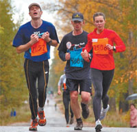 По предварительным данным на основной дистанции финишировало 269 участников.